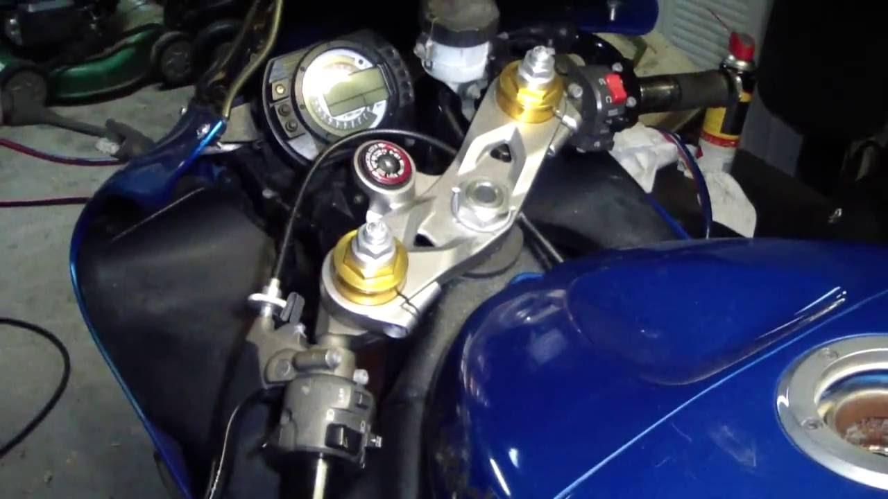 kawasaki zx636 fuel filter and pump removal