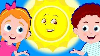 Hello Mr. Sun   Schoolies Cartoons   Nursery Rhymes And Songs - Kids Channel