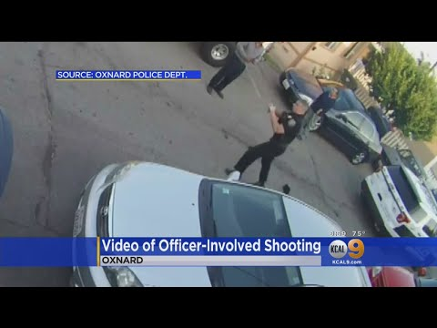 Surveillance Video Shows Brawl Between Suspect And Oxnard Officer Before Shooting