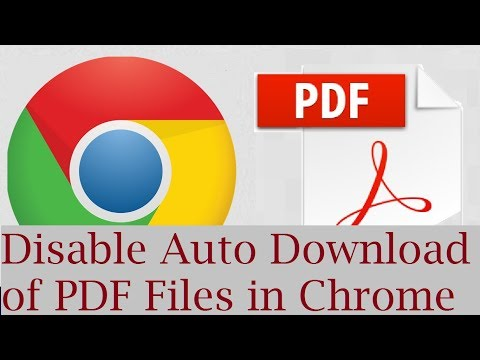 How to turn off auto download on chrome