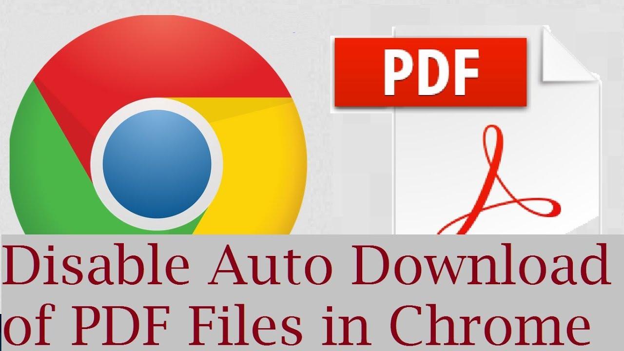Automatic chrome stop pdf