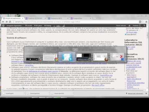 Tutorial per importare un file opml in RSSOwl