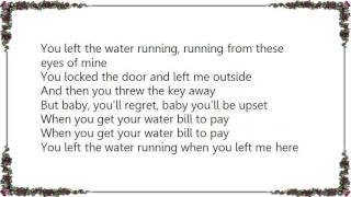 Play You Left The Water Running