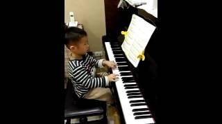 愛的浪漫曲  愛的羅曼史 鋼琴 五歲