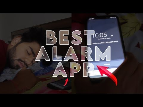 THIS ALARM APP WILL FORCE YOU TO WAKE UP | AMAZING ANDROID APP 😱🔥