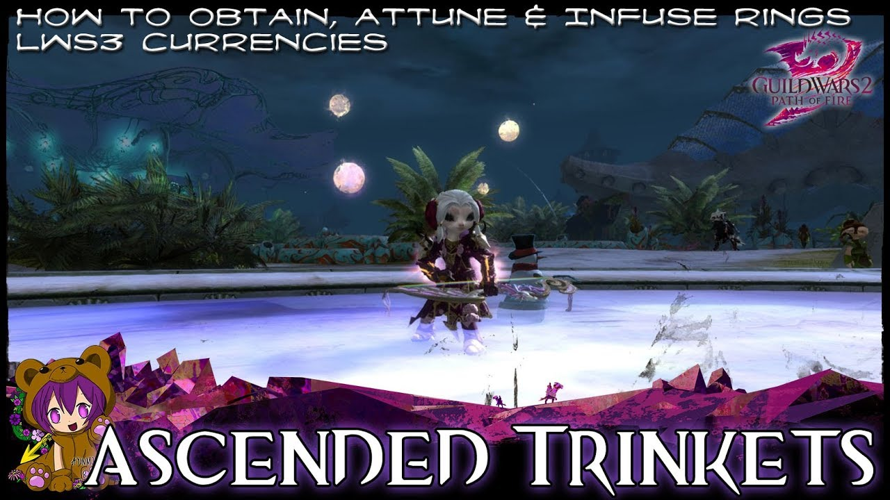 Guild Wars 2 Ascended Trinkets How To Obtain Attune