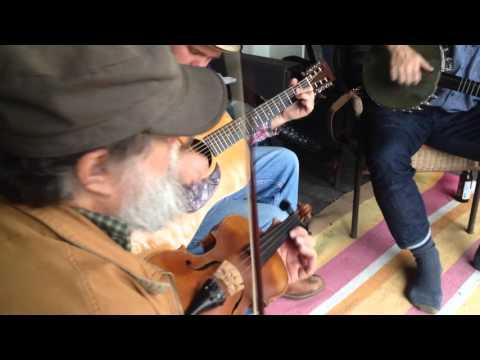 Polecat then Logan County Blues - Mick Kinney Oldtime Fiddler, Georgia Crackers - Porch Jam