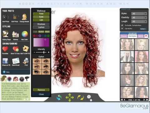 Подбор причёсок и стрижек онлайн, по фото, бесплатно