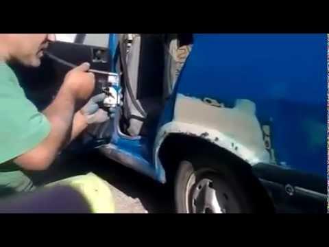 Как красить авто видео