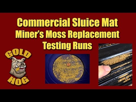 Commercial Sluice Mat - Gold Mining Sluice Mat
