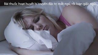 Bài thuốc hoạt huyết bí truyền đặc trị mất ngủ, rối loạn giấc ngủ
