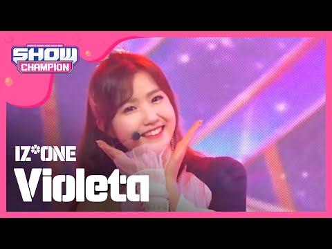 [Show Champion] 아이즈원 - 비올레타 (IZ*ONE - Violeta) l EP.312