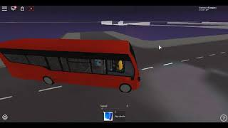 Roblox London Hackney & Limehouse bus Simulator Streetlite (euro 6) Demonstrator CTP on Route 309