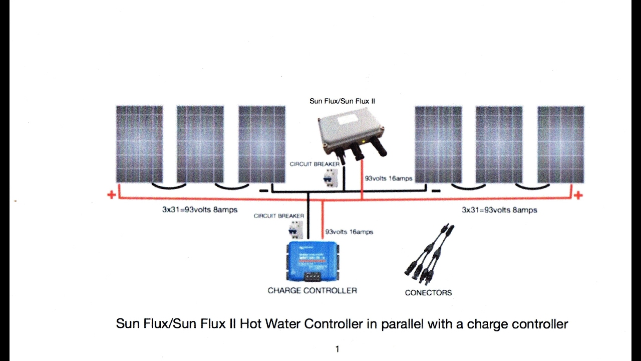 off grid water heating sun flux ii wiring diagrams and other stuff [ 1280 x 720 Pixel ]