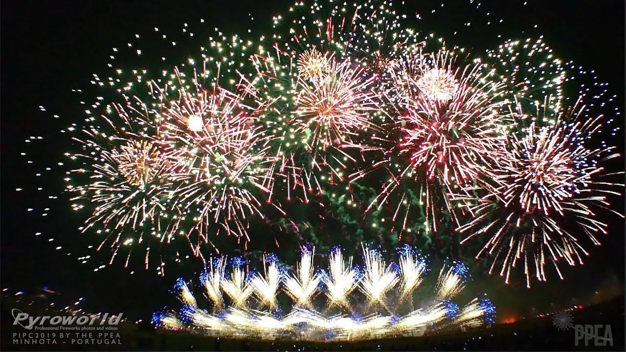 Philippine Int  Pyromusical Competition 2019: Minhota - Portugal - PIPC -  Fireworks - Feuerwerk
