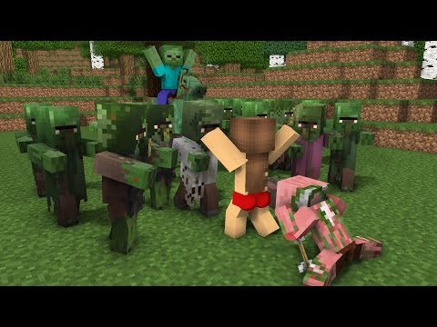 Top 6 Monster School - Minecraft Animation
