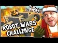 Scrap Mechanic! - ROBOT WARS CHALLENGE! Vs AshDubh - [#7] | Gameplay |