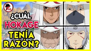 Naruto: CUÁL HOKAGE TENÍA RAZÓN en Naruto Shippuden