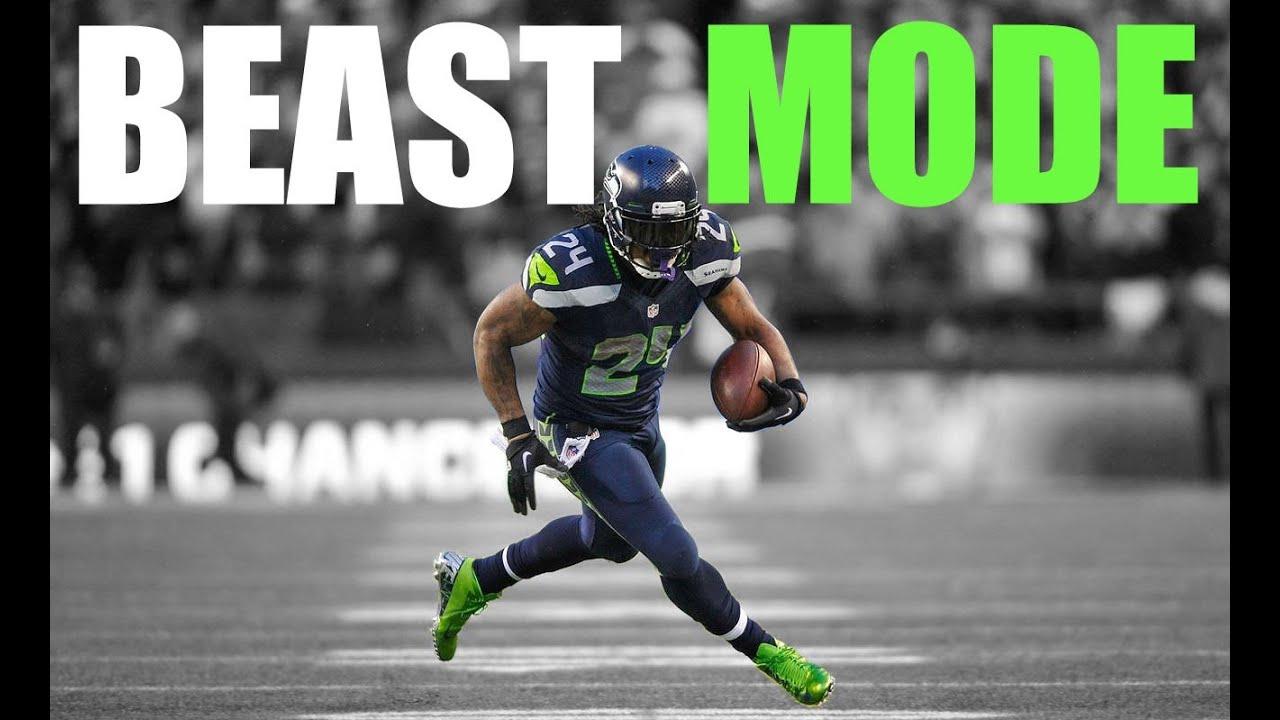 Marshawn Lynch Beast Mode Seattle Seahawks