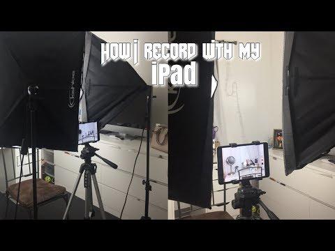 HOW I RECORD MY VIDEOS USING MY IPAD/ IPHONE | Jenn Isabel