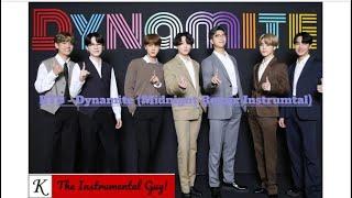 (Official Instrumental) BTS - Dynamite (Midnight Remix)