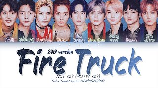 Download Mp3 Nct 127 엔시티 127  2019 Version  'fire Truck' | Color Coded Lyrics Han|rom