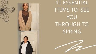 10 ESSENTIAL ITEMS YOU NEED IN YOUR WARDROBE TO SEE YOU THROUGH UNTIL SPRING -  Tanya Louise