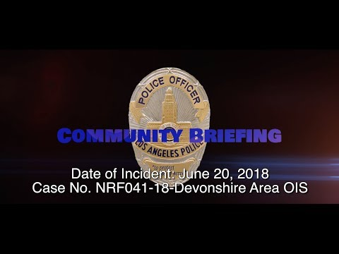 Critical Incident Video Release NRF041-18