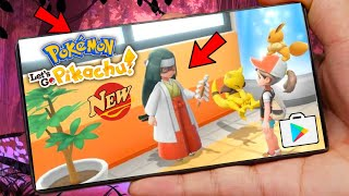 Pokemon Let's Go Pikachu Sword for Android Download and Play - APK English Version