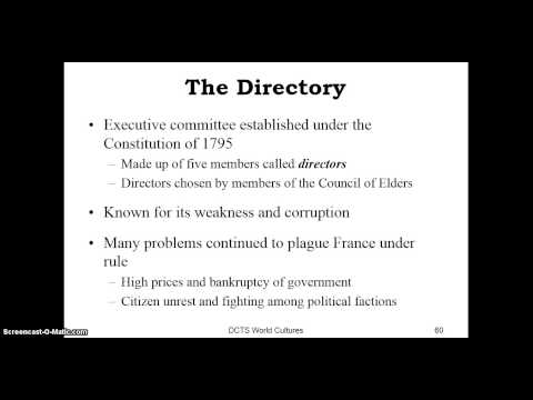 6 Why did the directory fail?