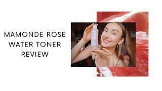 MAMONDE ROSE WATER TONER REVIE…