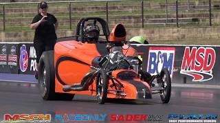 BK RACE ENGINES N/A V8 ALTERED 6.85 @ 195 MPH