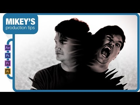Split Personality - Hemlock Grove after effects tutorial