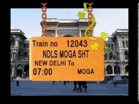 Train no   12043   Train Name   NDLS MOGA SHT   NEW DELHI   ROHTAK   TOHANA   SANGRUR   LUDHIANA