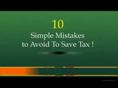 Best Tax Planning is to Avoid These 10 Mistakes