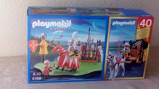 Unboxing Playmobil Knights 5168 - 40th Anniversary Compact Set