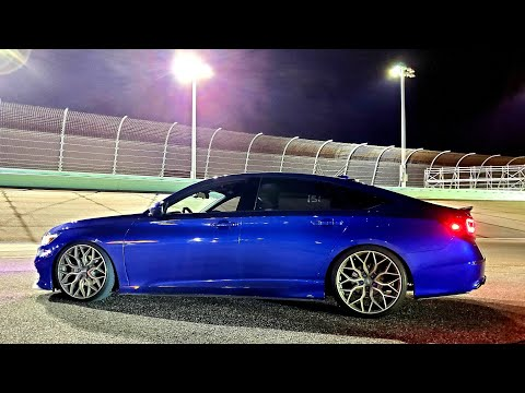 First Track Day With My Honda Accord 2019-2020 At Homestead Speedway
