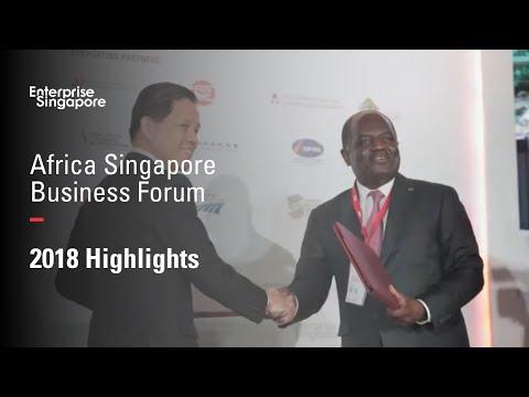Africa Singapore Business Forum 2018 Highlights | Enterprise Singapore