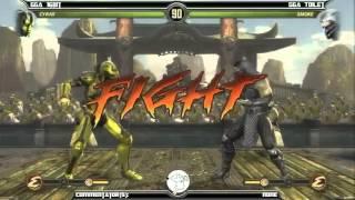 MK9 Casuals, GGA HAN (Cyrax) vs GGA Wafflez (Smoke)