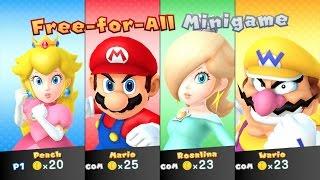 Mario Party 10 - amiibo Party - Peach Board