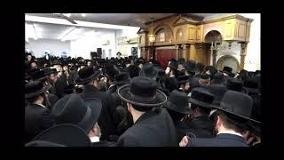 Satmar Rebbe R' Zalman Leib Maspid The Karlsburg Rov R' Yechzkel Roth Zt