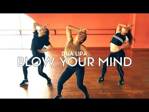 Dua Lipa - Blow Your Mind feat Maddie Jade & Charlize | Brian Friedman Choreography
