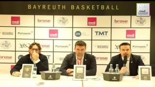 easycredit bbl saison 2016 2017   15 spieltag pressekonferenz