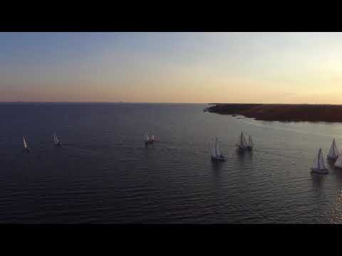 Bluewater Bay Marina Wednesday Night Fun Race 9-27-17 Part 3 The Start