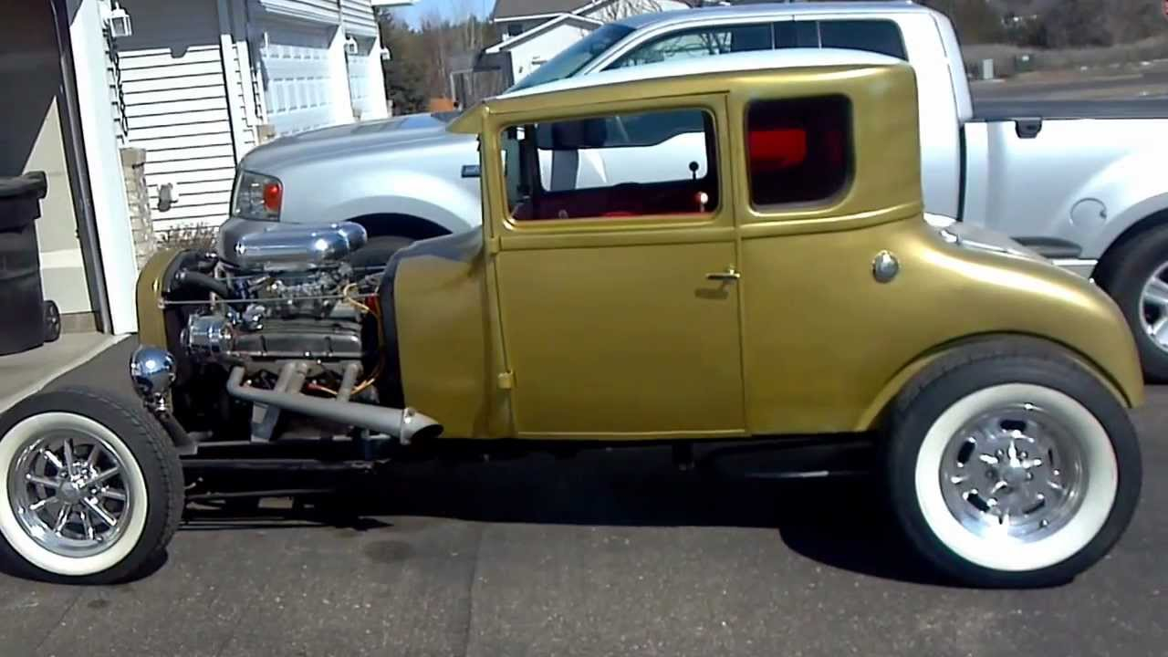 Troy\'s 1927 Model T Coupe Hot Rod - YouTube