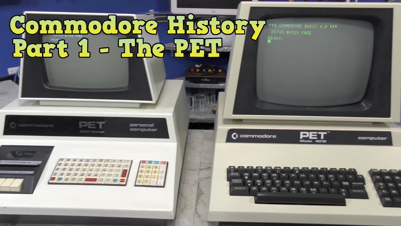 Commodore History Part 1- The PET - YouTube
