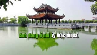 Gui Ve Quan Ho - Karaoke - Minh Thanh