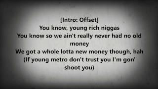 Bad and boujee lyrics