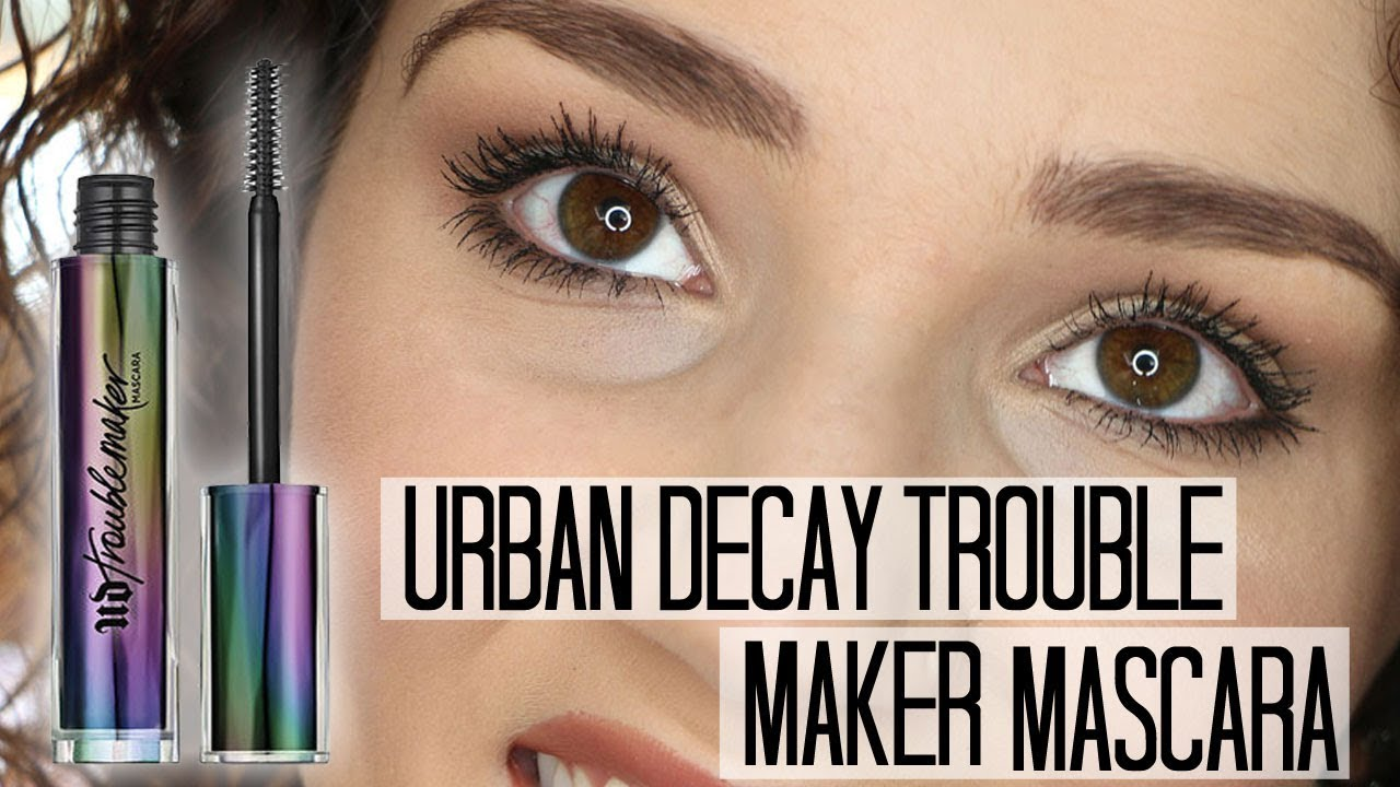 d3f2d512b4f Urban Decay Troublemaker Mascara Review & Demo - YouTube