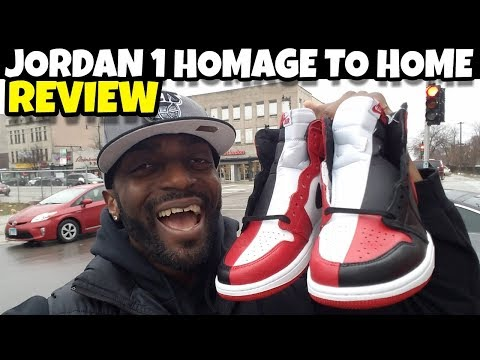 IN HAND: Jordan 1 Homage To Home Full Detailed Review!! These Are DOPE AF!! I Was Wrong